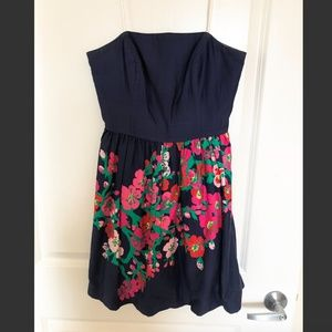 Lilly Pulitzer Dresses - Lilly Pulitzer Strapless Floral Print Dress